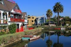 De rivier van de opdrachtkreek in Santa Barbara Stock Afbeelding