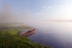 De rivier van de pastelkleur Stock Foto's