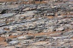 De rivier van de stenen-spoorberg Royalty-vrije Stock Afbeeldingen