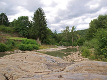 De rivier van de Tarn Royalty-vrije Stock Foto