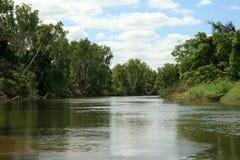 De Rivier van de wildernis - Nationaal Park Kakadu Royalty-vrije Stock Afbeelding