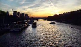 De rivier van de zegen Royalty-vrije Stock Afbeelding