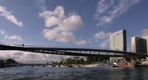 De rivier van de zegen in Parijs Royalty-vrije Stock Foto's