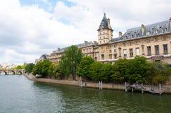 De rivier van de zegen, Parijs, Frankrijk Royalty-vrije Stock Afbeelding