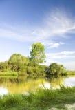 De rivier van de zomer. Royalty-vrije Stock Foto's