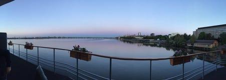 De rivier van Dniepr Royalty-vrije Stock Afbeelding