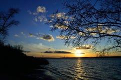 De rivier van Dniepr Royalty-vrije Stock Foto's