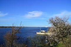 De rivier van Dniepr Stock Foto