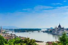 De rivier van Donau Royalty-vrije Stock Afbeeldingen
