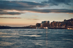 De rivier van Donau Royalty-vrije Stock Fotografie
