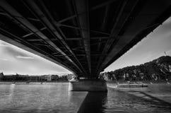 De rivier van Donau Stock Afbeeldingen