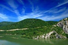 De rivier van Donau Stock Foto