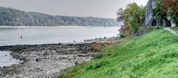 De rivier van Donau in Hainburg royalty-vrije stock fotografie