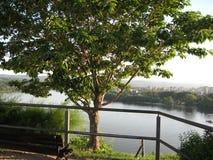 De Rivier van Donau, Petrovaradin-Vesting, Novi Sad, Servië royalty-vrije stock fotografie