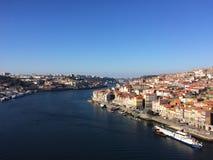 De rivier van Douro Royalty-vrije Stock Afbeeldingen