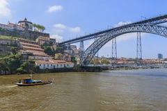 De rivier van Douro Stock Foto's