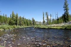 De Rivier van Firehole - Yellowstone Royalty-vrije Stock Afbeelding