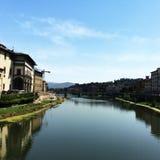 De rivier van Florence Royalty-vrije Stock Afbeelding