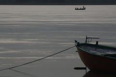 De Rivier van Ganga Royalty-vrije Stock Afbeeldingen