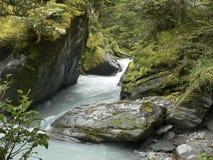 De rivier van het ijs Royalty-vrije Stock Afbeeldingen