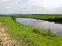 De rivier van het land Royalty-vrije Stock Afbeelding
