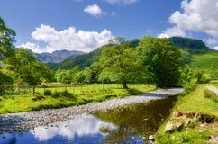 De rivier van het platteland stock foto's