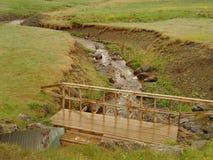 De rivier van IJsland Royalty-vrije Stock Foto's