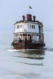 De Rivier van Irrawaddy - Myanmar Stock Foto's