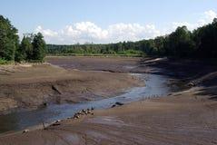 De rivier van Jagala Royalty-vrije Stock Foto