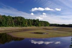 De rivier van Jagala Royalty-vrije Stock Afbeeldingen
