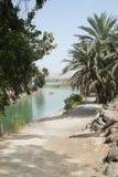 De rivier van Jordanië stock afbeeldingen