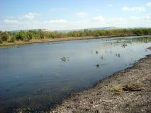 De rivier van Jordanië - Israël Royalty-vrije Stock Afbeeldingen