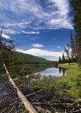 De rivier van Kanas Stock Foto's