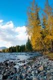 De rivier van Kanasi Royalty-vrije Stock Afbeeldingen