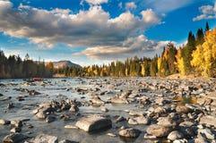 De rivier van Kanasi Stock Foto