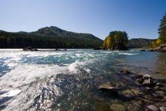 De rivier van Katun royalty-vrije stock fotografie