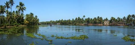 De Rivier van Kerela Stock Foto's