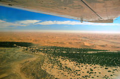 De Rivier van Kuiseb (Namibië) royalty-vrije stock afbeeldingen