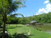 De rivier van Kwai Stock Afbeelding