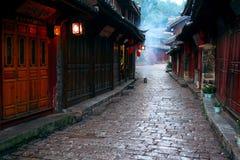 De rivier van Lijiang Stock Afbeeldingen
