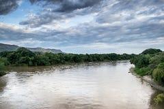 De rivier van Magdalena royalty-vrije stock afbeeldingen