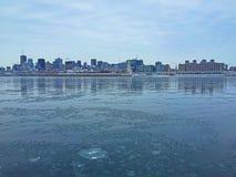 De rivier van Montreal Royalty-vrije Stock Afbeelding