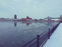 De rivier van Montreal Royalty-vrije Stock Foto's