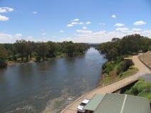 De rivier van Murray Royalty-vrije Stock Afbeeldingen