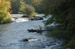 De Rivier van Niagara Stock Afbeelding