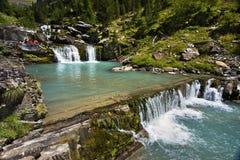 De rivier van Nice Royalty-vrije Stock Foto's