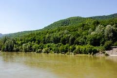 De rivier van Olt Royalty-vrije Stock Fotografie