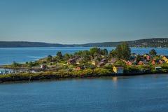 De Rivier van Oslo Royalty-vrije Stock Fotografie