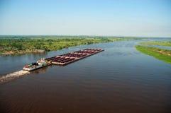 De Rivier van Paraguay royalty-vrije stock fotografie