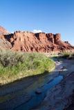 De Rivier van Paria in de Strook van Arizona royalty-vrije stock foto's
